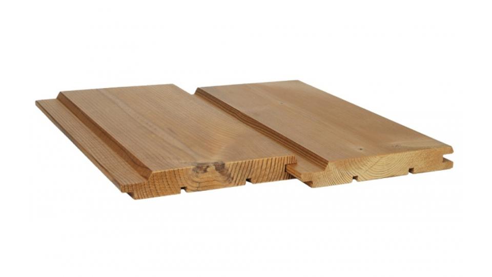 Fasádní obklad ThermoWood® UTV KLASIK 19x140 mm