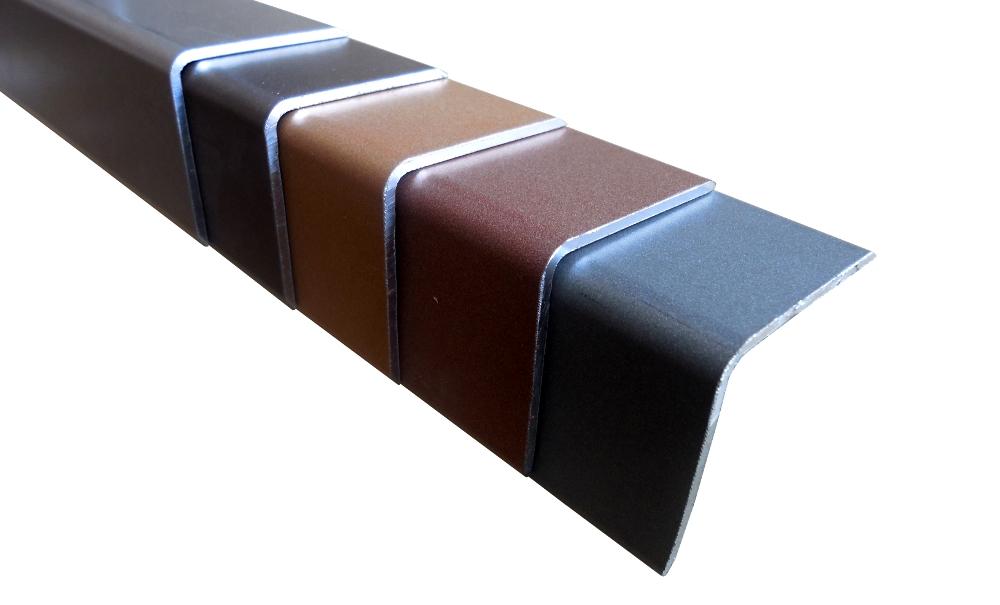 WPC terasy - okrajová lišta, hliník, barva wpc prken | Fasády&Terasy