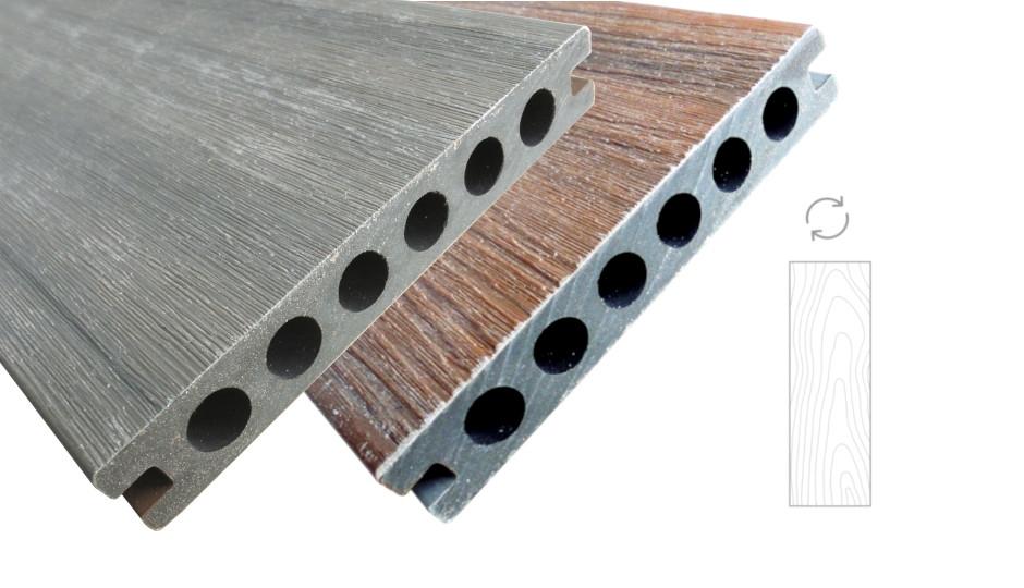 WPC terasová prkna LIKEWOOD PROTECT vzhled dřeva | Fasády&Terasy s.r.o.
