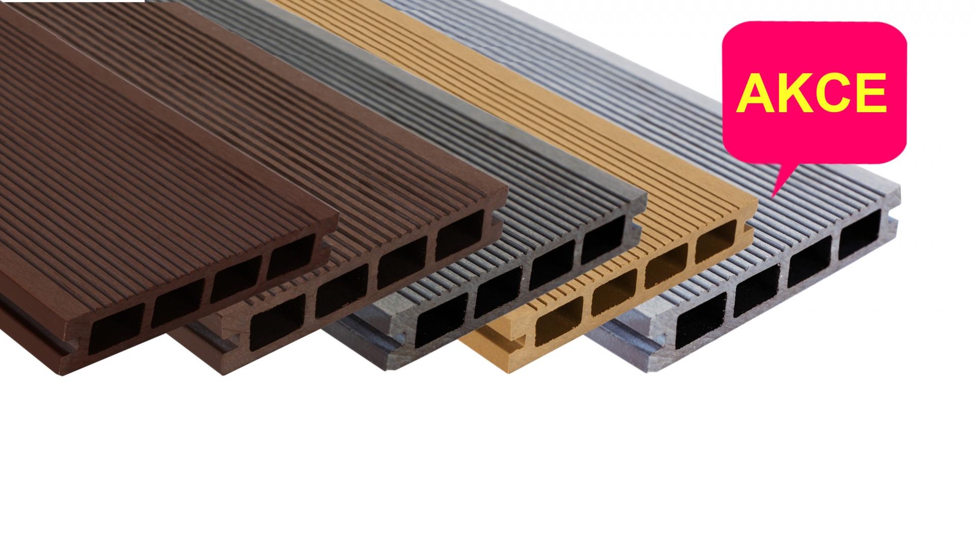 Wpc terasy - terasová prkna WPC Likewood 25 - jednobarevná