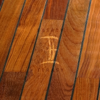 Dřevěná podlaha do koupelny Navylam+ tl. 9 mm | Fasády & Terasy s.r.o. - Navylam+ Teak 9x68 mm