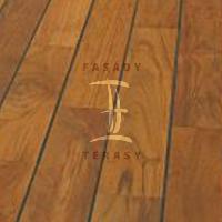 Dřevěná podlaha do koupelny Navylam+ tl. 9 mm | Fasády & Terasy s.r.o. - Navylam+ Teak 9x88 mm