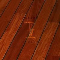 Dřevěná podlaha do koupelny Navylam+ tl. 9 mm | Fasády & Terasy s.r.o. - Navylam+ Doussie 9x68 mm