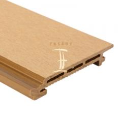 Fasádní obklad z wpc (dřevoplastu) | Fasády & Terasy s.r.o. - Fasádní obklad z WPC - žlutozelený odstín