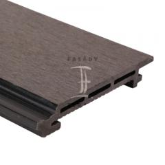 Fasádní obklad z wpc (dřevoplastu) | Fasády & Terasy s.r.o. - Fasádní obklad z WPC - šedý odstín