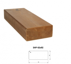 SHP Hranoly a latě ThermoWood® | Fasády&Terasy - SHP hranol ThermoWood 42x92 mm