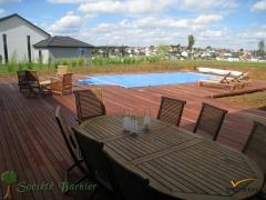 Dřevěná terasa Softline Merbau