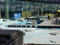 Excel Hotel - dlažba na rektifikačních terčích Buzon - foto 4