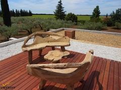 Dřevěná terasa merbau systém Softline