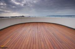 Dřevěná terasa merbau Softline