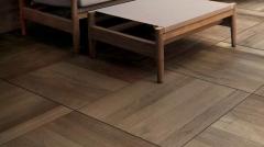 Keramická dlažba Kronos vzhledu dubového dřeva