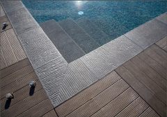 Keramická dlažba Kronos - bazénové prvky, odtoky, schody
