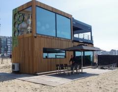 Dřevěná fasáda - Belgie