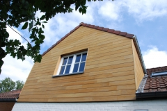 Dřevěná fasáda z teaku