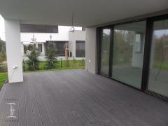 Dřevoplastová terasa Likewood 25, šedá, dutý profil
