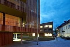 Ukázka použití dřevěné fasády ThermoWood