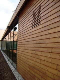 Dřevěná fasáda Thermowood