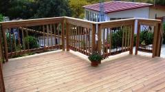 Dřevěná terasa ThermoWood borovice