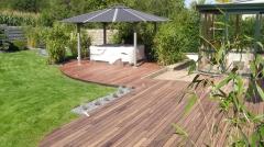 Dřevěná terasa Softline Padouk