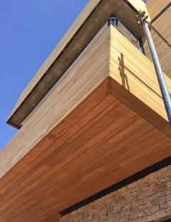 Dřevěná fasáda Techniclic (Vetedy)