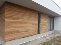 Dřevěná fasáda Techniclic (ČR)