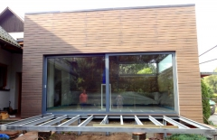 Dřevěná fasáda ThermoWood profil SSS Rhombus 20x92 mm