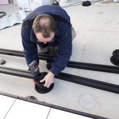 BRS systém - uchycení hliníkového profilu