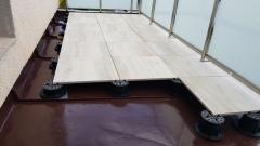 Realizace terasy z dlažby na terčích Buzon PB série (2018)