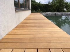 Dřevěná terasa z exotického dřeva Garapa