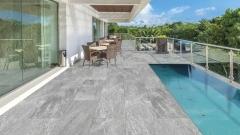 Venkovní keramická dlažba VIEW - Cer 01 šedá 40x120 cm