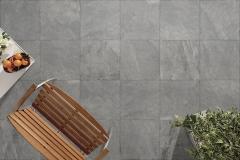 Venkovní keramická dlažba VIEW Ardesia šedá 60x60 cm