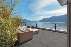 Venkovní keramická dlažba VIEW Timber šedá 40x120 cm