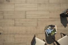 Venkovní keramická dlažba VIEW Timber Noce 40x120 cm