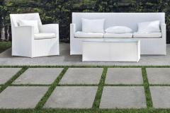 Venkovní keramická dlažba VIEW Stone šedá 60x60 cm