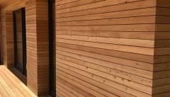Dřevěná fasáda Sibiřský modřín Rhombus