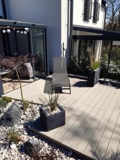 WPC terasa Likewood 25x140 světle šedá