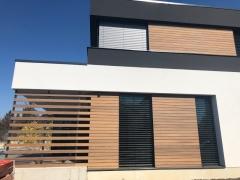 Dřevěné obložení fasády, systém Techniclic