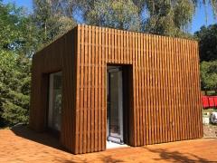 Dřevěné obložení fasády, systém Techniclic (Orlík n. V.)