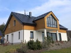 Dřevěná fasáda z termoborovice (Techniclic) - Severní Čechy