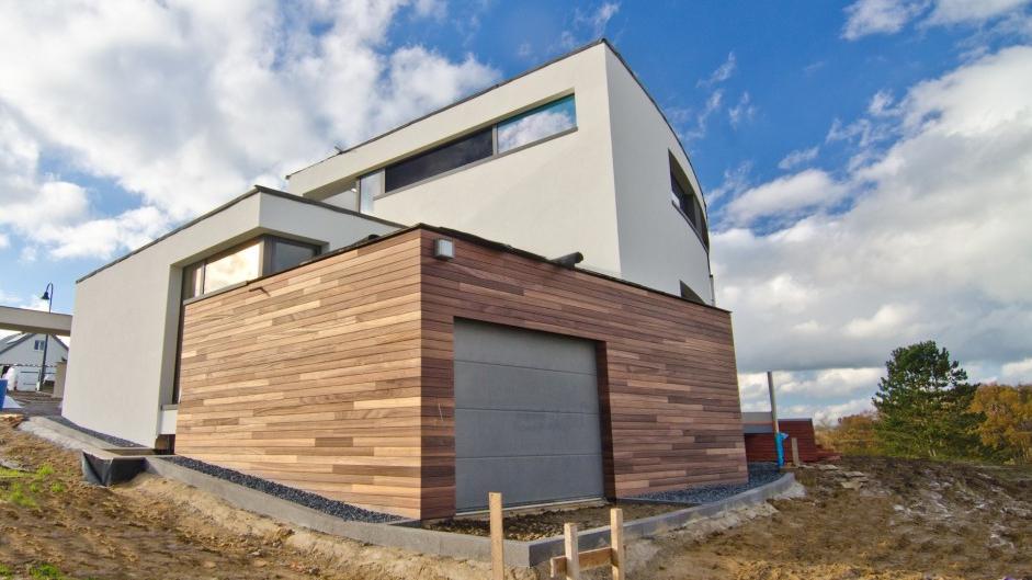Dřevěné fasády - Dřevěné fasády Techniclic® - skryté uchycení