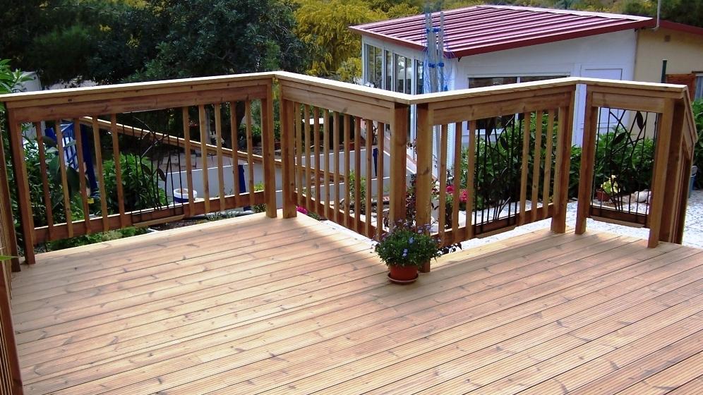 Dřevěné terasy, terasová prkna ze dřeva | Fasády&Terasy s.r.o. - Dřevěné terasy ThermoWood®
