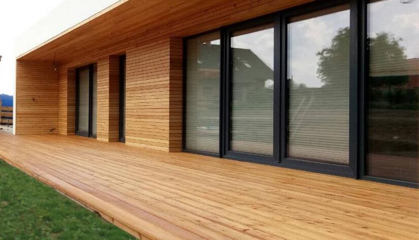 Dřevěné terasy, terasová prkna ze dřeva | Fasády&Terasy s.r.o. - Dřevěné terasy Sibiřský modřín